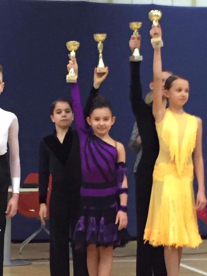 Victor i Julka na Turnieju w Wilanowie