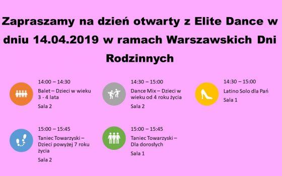 Dzień otwarty w Elite Dance